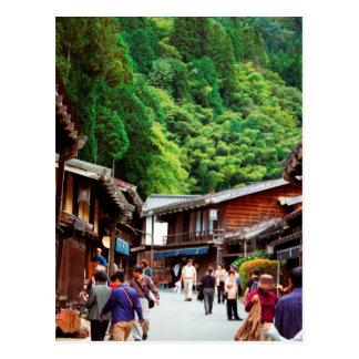 Postcard Tsumago, Nagano, Japan