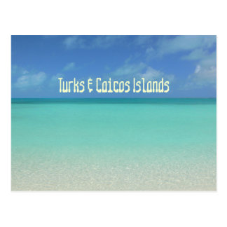 "postcard, ""TURKS & CAICOS ISLANDS"""
