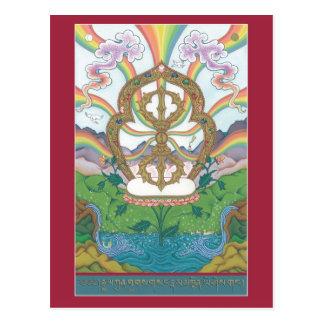 POSTCARD Vajra / Dorje
