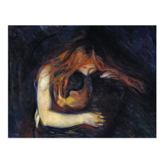 Postcard: Vampire by Edvard Munch Postcard
