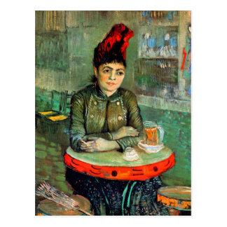 Postcard: Van Gogh - Woman in Cafe Postcard