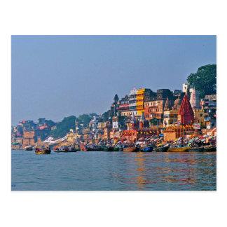Postcard Varanasi, India
