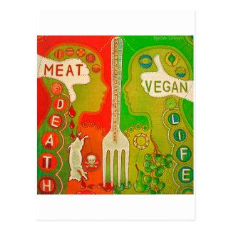 Postcard vegan meatus fork