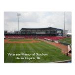 Postcard - Veterans Memorial Stadium - 2011-01