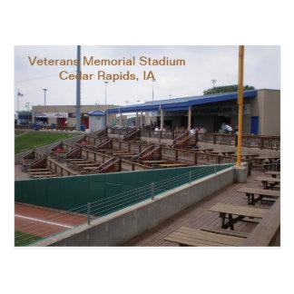 Postcard - Veterans Memorial Stadium - 2011-03
