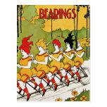 Postcard: Vintage Advertising - Bicycle Bearings