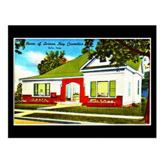 Postcard-Vintage Dallas Artwork-47 Postcard