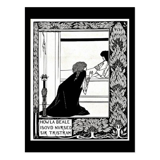 Postcard-Vintage Illustration-Aubrey Beardsley 21 Postcard