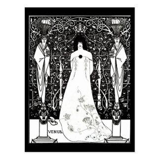 Postcard-Vintage Illustration-Aubrey Beardsley 36 Postcard