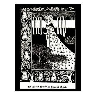 Postcard-Vintage Illustration-Aubrey Beardsley 4 Postcard