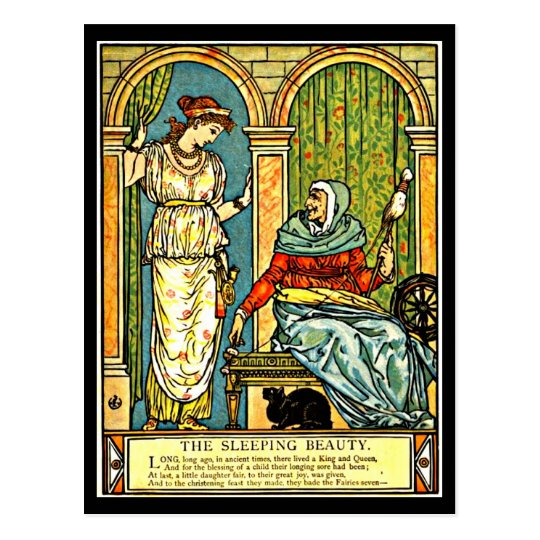 Postcard-Vintage Illustration-Walter Crane 12 Postcard