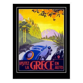 Postcard Vintage Travel Grece Greece