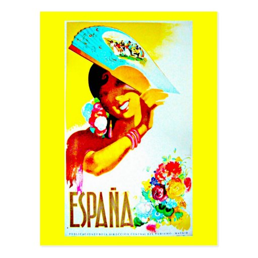 Postcard-Vintage Travel-Spain