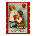Postcard-Vintage Valentine for your sweetheart