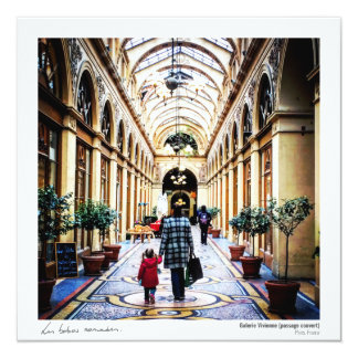 Postcard - Vivienne Gallery 13 Cm X 13 Cm Square Invitation Card