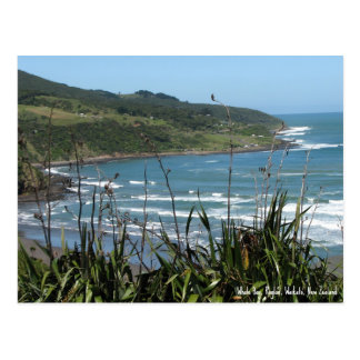 Postcard, Whale Bay, Raglan, New Zealand Postcard