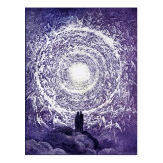Postcard: White Rose - Gustave Doré