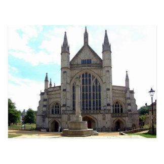 Postcard Winchester Cathedral, the U.K.