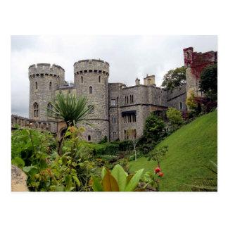 Postcard Windsor Castle one the Thames To rivet