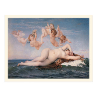 Postcard with Alexandre Cabanel Painting