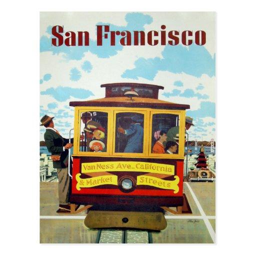 Postcard with Cool San Francisco Print
