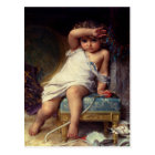 Postcard With Emile Munier Painting