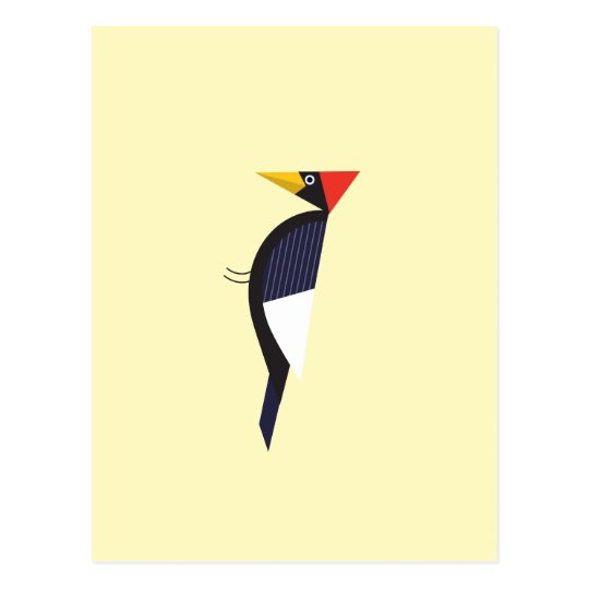 postcard with Ivory billed woodpecker jump gift