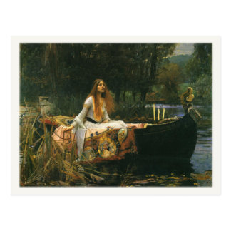 Postcard with John William Waterhouse Painting