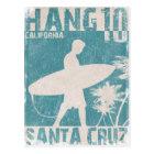 Postcard with Santa Cruz Surfer Print