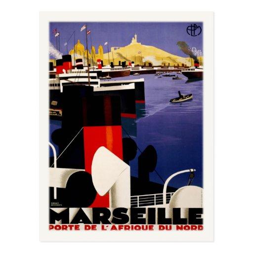 Postcard With Vintage Port Poster