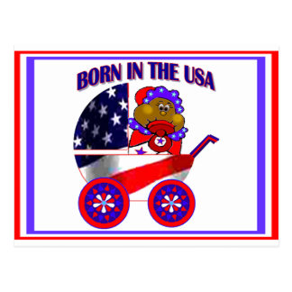 Postcards Born in the USA
