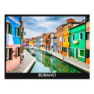 Postcards, Burano, Italy Postcard