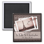 Postcards from Paris Save the Date Magnets