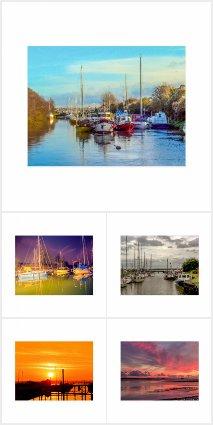 Postcards - Lydney Harbour