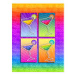 Postcards - Pop Art Margaritas
