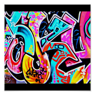Poster-Abstract/Misc-Graffiti Gallery 7 Poster