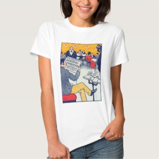 Pøster ad babydoll white tee shirts