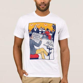 Pøster ad basic white T-Shirt