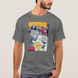 Pøster ad dark grey T-Shirt