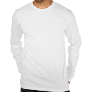 Pøster ad longsleeved fitted tee shirt