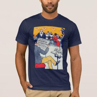 Pøster ad navy T-Shirt