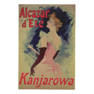 "Poster advertising ""Alcazar d'Ete"""