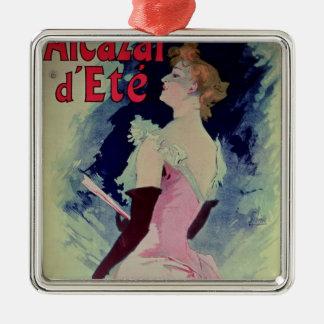 "Poster advertising ""Alcazar d'Ete"" Christmas Ornament"