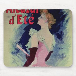 "Poster advertising ""Alcazar d'Ete"" Mouse Mat"