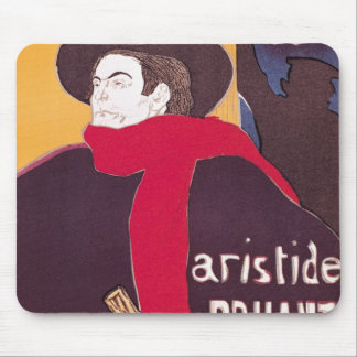 Poster advertising Aristide Bruant Mouse Mat
