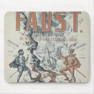 Poster advertising 'Faust' Mouse Mat