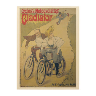 Poster advertising Gladiator bicycles