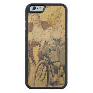 Poster advertising Gladiator bicycles Maple iPhone 6 Bumper Case