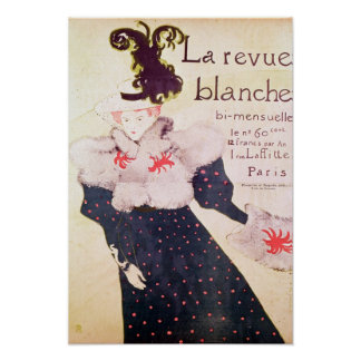 Poster advertising 'La Revue Blanche', 1895