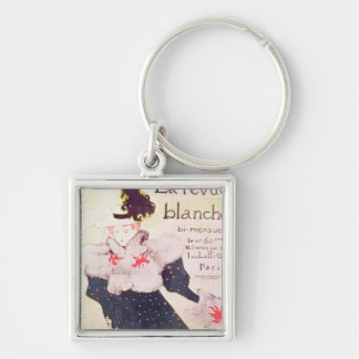 Poster advertising 'La Revue Blanche', 1895 Key Ring